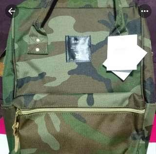 <Authentic> Brand New Anello Backpack - Camo Large