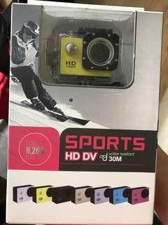 Sports HD DVD action camera