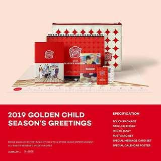 [Pre Order/Loose] Golden Child 2019 Season Greeting