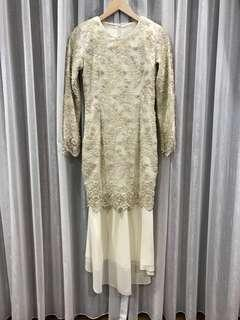 Lace Wedding Kurung / Baju Pengantin for rent (Custom Made)