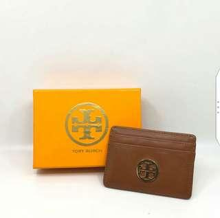 Authentic 95% New Tory Burch Card Holder
