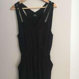 Bardot Black playsuit -6