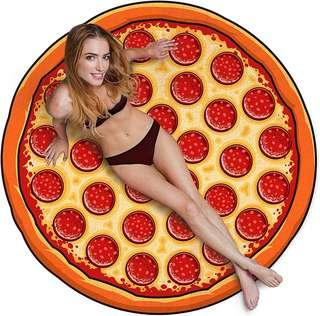 ✨ AUTHENTIC GIGANTIC BEACH BLANKET: PIZZA ✨