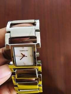 Original Cosmopolitan Mineral Crystal Stainless Watch very elegant