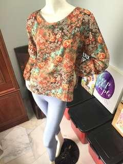 Combo Floral Top & Legging