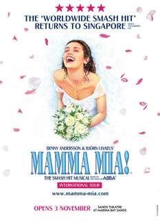 Mamma Mia VIP Saturday 8pm