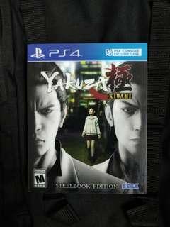 PS4 Yakuza Kiwami (Steelbook)