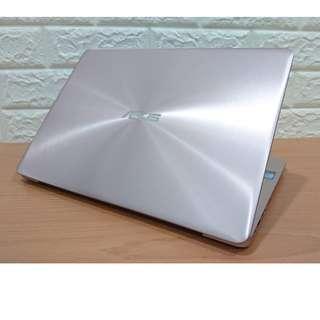 【拆封新品】華碩 ASUS ZenBook UX410UF 14吋 超輕薄 玫瑰金 八代i7+8G+雙碟+2G獨顯 保內