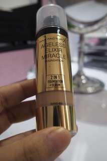 Max factor ageless elixir miracle foundation + serum