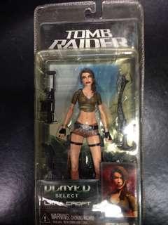 NECA Player Select Tomb Raider Lara Croft Action Figure MOC