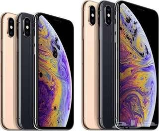 Clear Brand new stock IPhone XS / XS Max 64/256/512