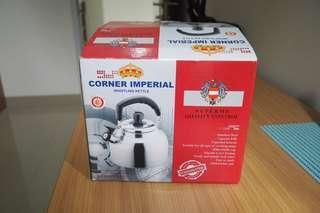 Teko bunyi stainless steel corner imperial kettles