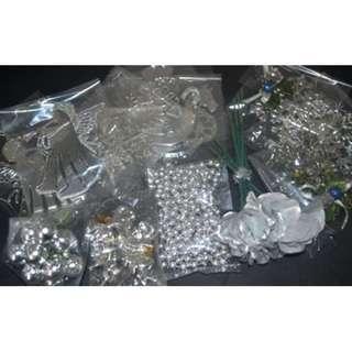 35 Pcs. Silver Ornament Pack