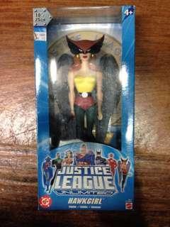 Mattel Justice League Hawk Girl MISB Action Figure