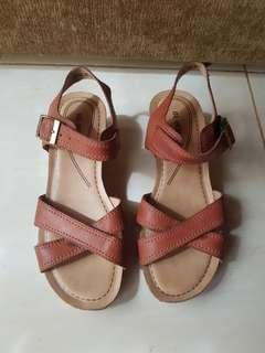 Brown BE-BOB Wedges Shoes
