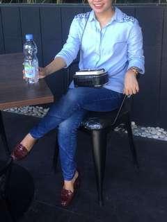 atasan jeans top