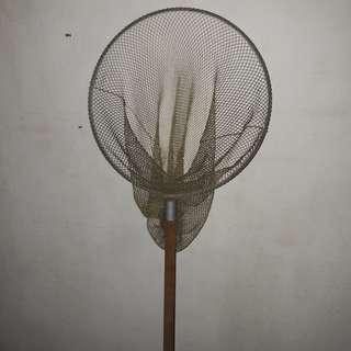 Net fruit plucker