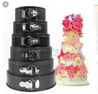 6 in 1 cake molders