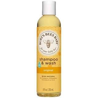 Burt's Bees Baby Bee Original Shampoo & Wash, 8 oz