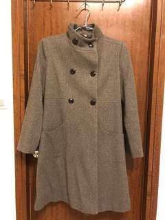 🚚 Zara 大衣外套 (童裝164cm/成人可)