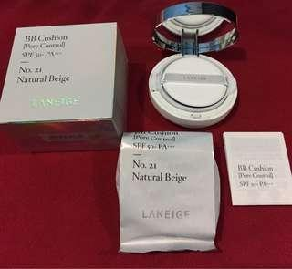(SALE) BB Cushion Laneige Pore Control