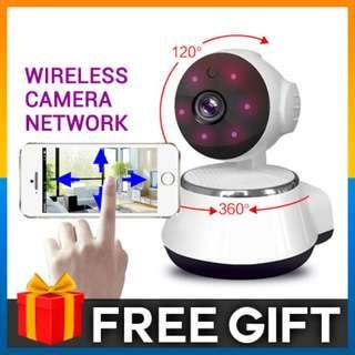 Wireless WIFI Smart V380 Wireless Camera 720P HD Smart Monitor