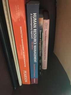 textbooks human resource/marketing