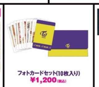 [Instock] Twice (Japan) - BDZ Arena Tour Photo Card Set