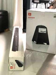 JBL Cinema SB300 Soundbar with Wireless subwoofer