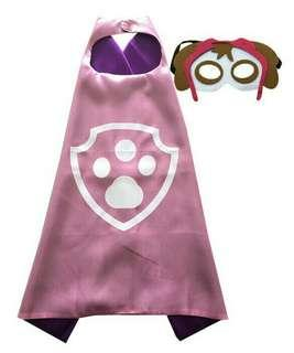 Paw Patrol Skye Cape and Felt mask set