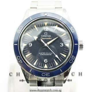 Pre-Owned Omega Seamaster 300 Master Co-Axial Liquidmetal 41mm 233.90.41.21.03.001