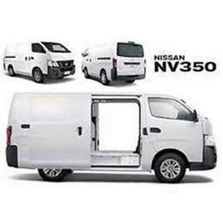 🚚 (VAN RENTAL) Nissan NV350 urvan