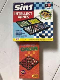 Mini board games