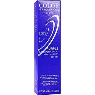 Ion Purple Semi Permanent Hair Color Purple