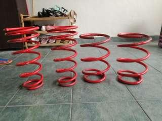 Camry acv30 lowered spring