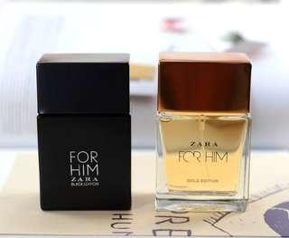 Zara for him black edition & Gold Edition 100ml 2pcs❤ REALPICT & READYSTOCK YA❤ Kuy chat skrg lgsg order! First come first serve😍😘  Authentic Guarantee/100% MONEYBACK👌 Info Grosir & Partai WA:085782955531✔(Harap baca description sebelum order🙏)