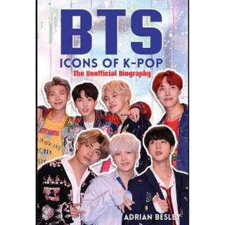 BTS Icons of KPop Book (New Wrapped)