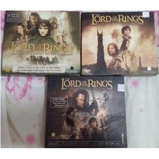 The Lord of the Rings English Movie VCD Video