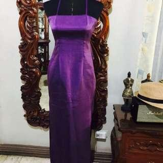 Purple Formal Gown‼️‼️REPRICED