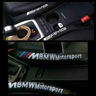 AMG/M~Logo seat fillers for Mercedes Benz/BMW