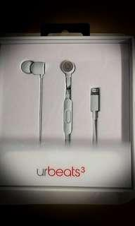 100%new and real Urbeats 3 lighting in white