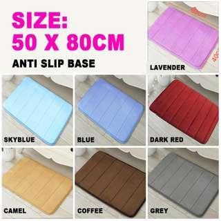 50X80cm floor mat buy3get1free