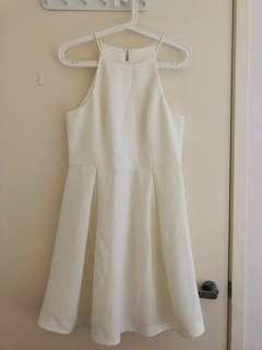 Forever New White Cocktail Dress Size 12
