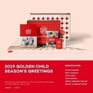 [Pre Order] Golden Child - Season Greetung 2019