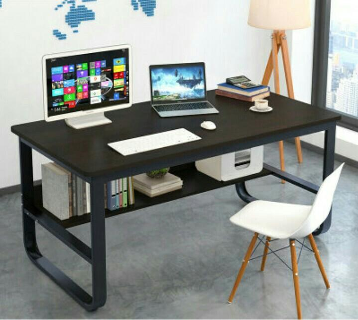 160cm Long Office Table Study Computer Desk Learning Table Furniture Tables Chairs On Carousell