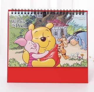 R/S Winnie The Pooh 2019 Pop Up Cover Desktop Calender