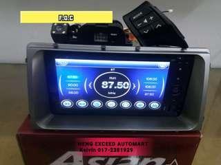 PERODUA MYVI ICON DVD PLAYER F.O.C CAMERA & STEERING WHEEL CONTROL BUTTON