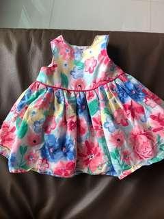 [Preloved] (0-3M) Primark Baby Dress