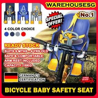 Baby seat for bicycles