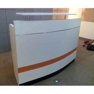 Reception desk - office partition - office table - KHOMI